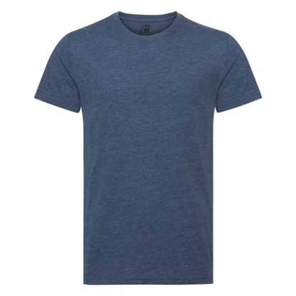 HD T-Shirt - Slim Fit, Soft Finish Poly-Cotton - JTA165 - R_165M_bright_navy_marl_front