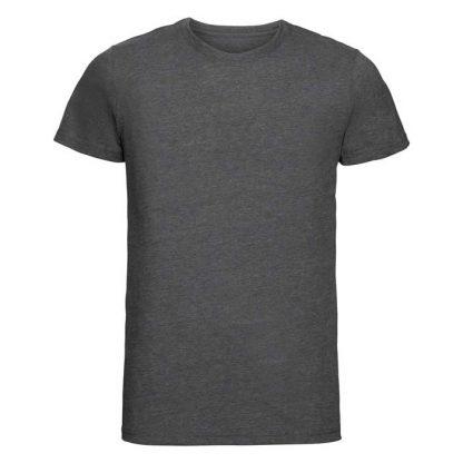 HD T-Shirt - Slim Fit, Soft Finish Poly-Cotton - JTA165 - R_165M_grey-marl_front