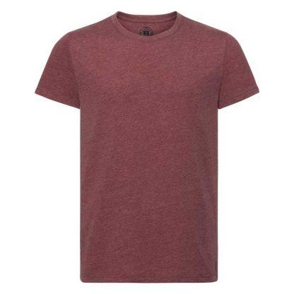 HD T-Shirt - Slim Fit, Soft Finish Poly-Cotton - JTA165 - R_165M_maroon_marl_front