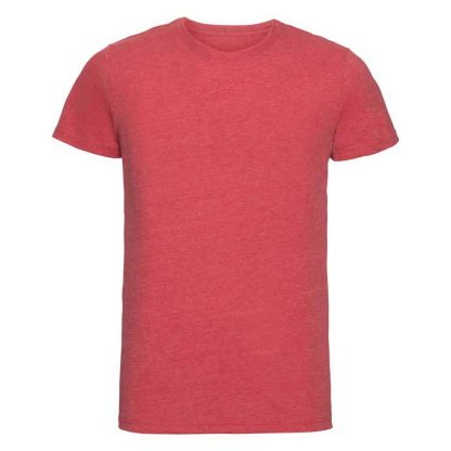 HD T-Shirt - Slim Fit, Soft Finish Poly-Cotton - JTA165 - R_165M_red-marl_front