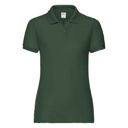 Ladies Fit 65/35 Polo - SPLPC_63-212-bottle-green