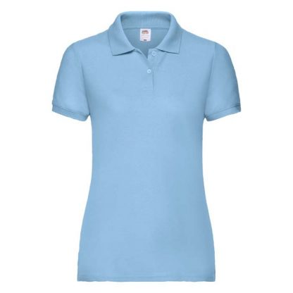Ladies Fit 65/35 Polo - SPLPC_63-212-sky