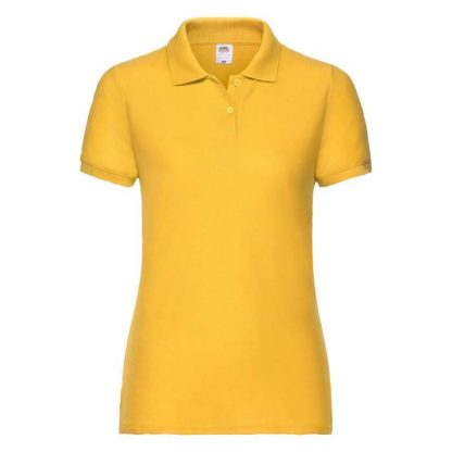 Ladies Fit 65/35 Polo - SPLPC_63-212-sunflower