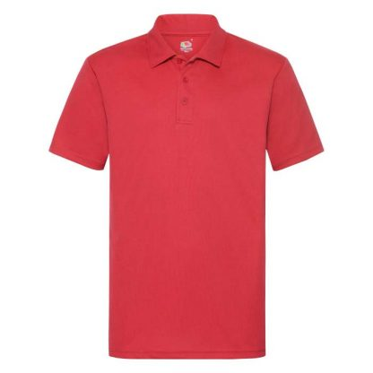 Performance Polo - SS118_63-038-red