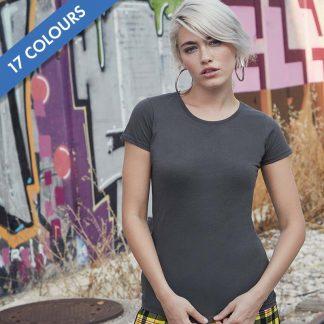 Lady-fit Sofspun T-Shirt - SS125_61-414