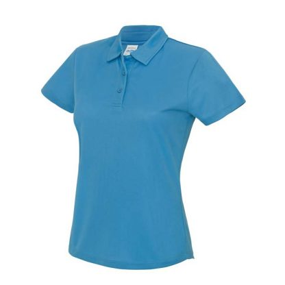 Girlie Cool Polo - JC045-SAPPHIRE-BLUE-(FRONT)
