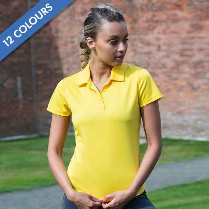 Girlie Cool Polo - Girlie Cool Polo - JC045_SUN-YELLOW-(2)